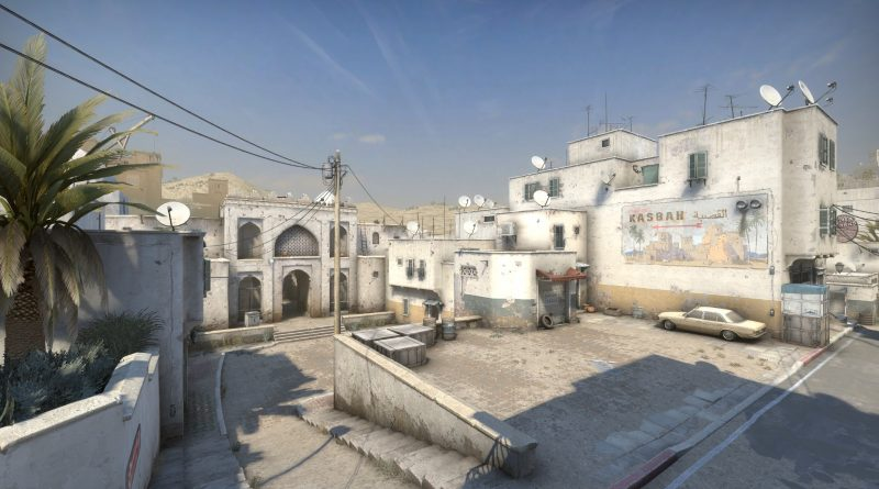 New Dust2 T Spawn