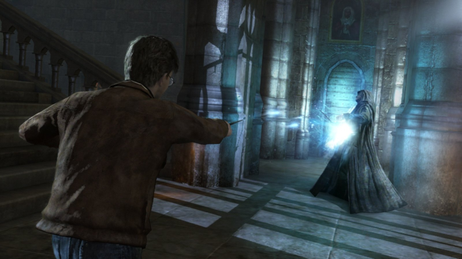 Harry Potter and The Deathly Hallows Part 2 Wizard Fight