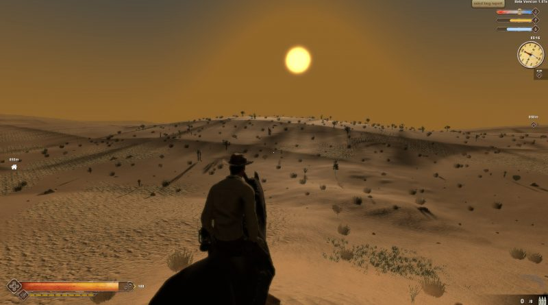 Survival Western Game - Sunset Rangers Preview